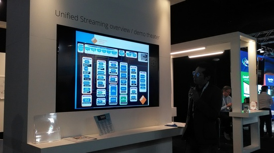 Unified Streaming booth NPO IBC 2015