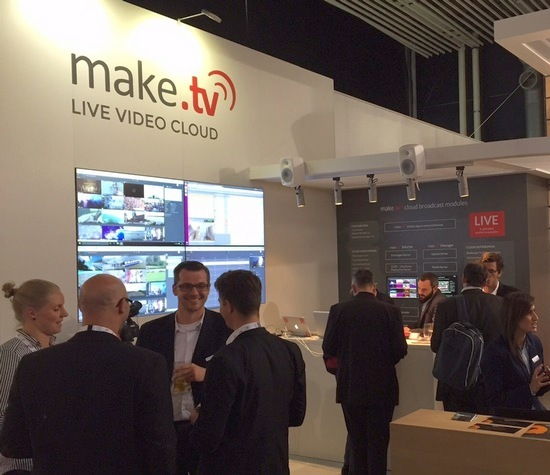 make.tv Best of Show IBC 2015
