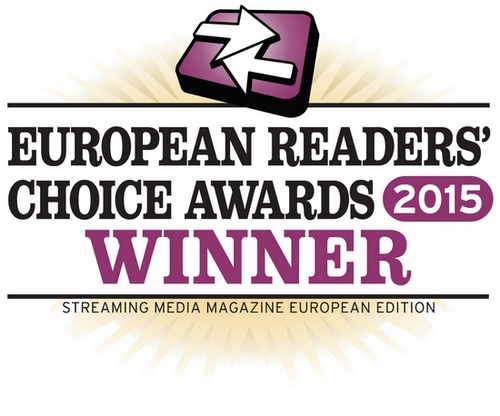 Streaming Media Readers' Chocie Awards winner